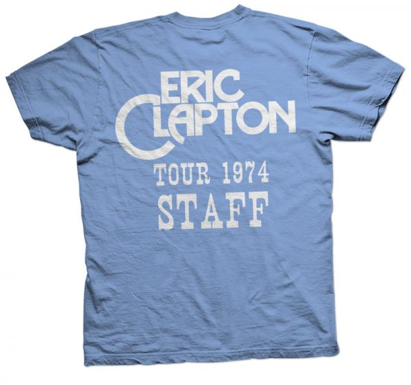 eric clapton showco t shirt