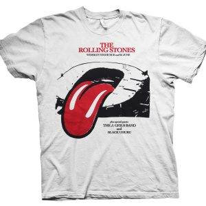 rare rolling stones at wembley t shirt