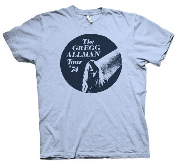 gregg allman rare 1974 t shirt