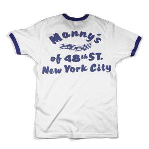 mannys music store tshirt