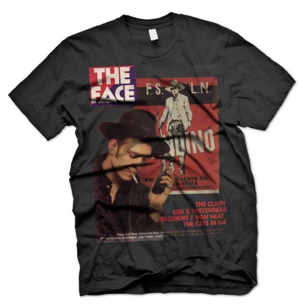 clash face magazine cover t shirt