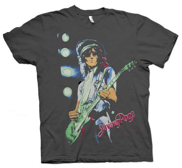 rare jimmy page the firm us tour shirt