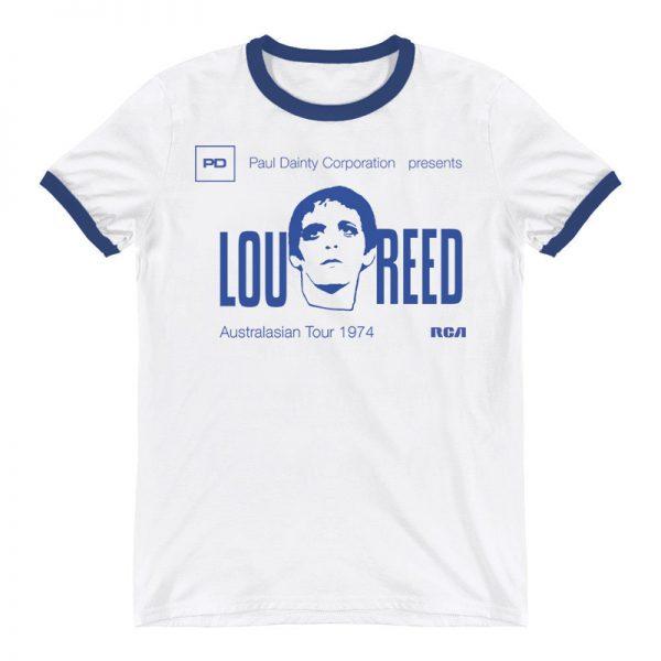 lou reed rare tour shirt