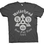 rare motorhead tour t shirt