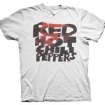 rare red hot chilli peppers t shirt