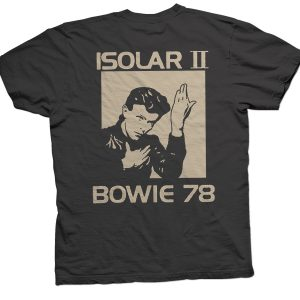 rare bowie isolar tour showco t shirt