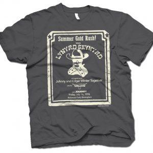 rare skynyrd tee shirt