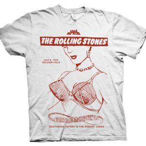 rare rolling stones tour t shirt