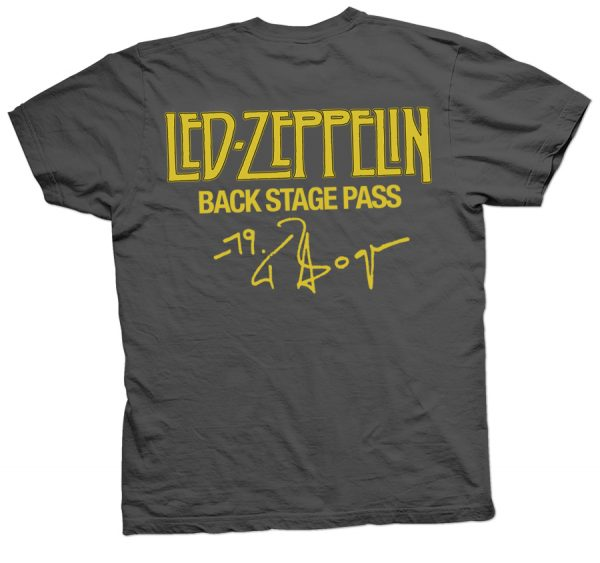 rare led zeppelin knebworth t shirt