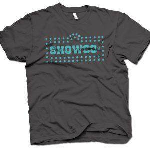 led zeppelin showco tour tee shirt