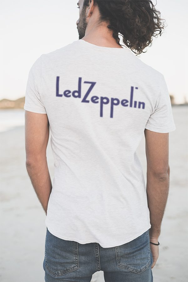 led zeppelin 1972 tour t shirt