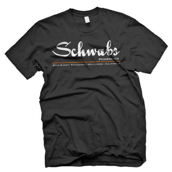 schwabs of hollywood t shirt