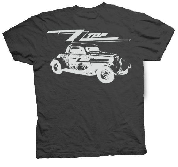 rare zz top eliminator showco shirt