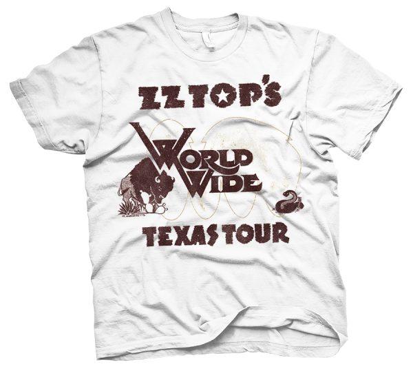 rare zz top t shirts